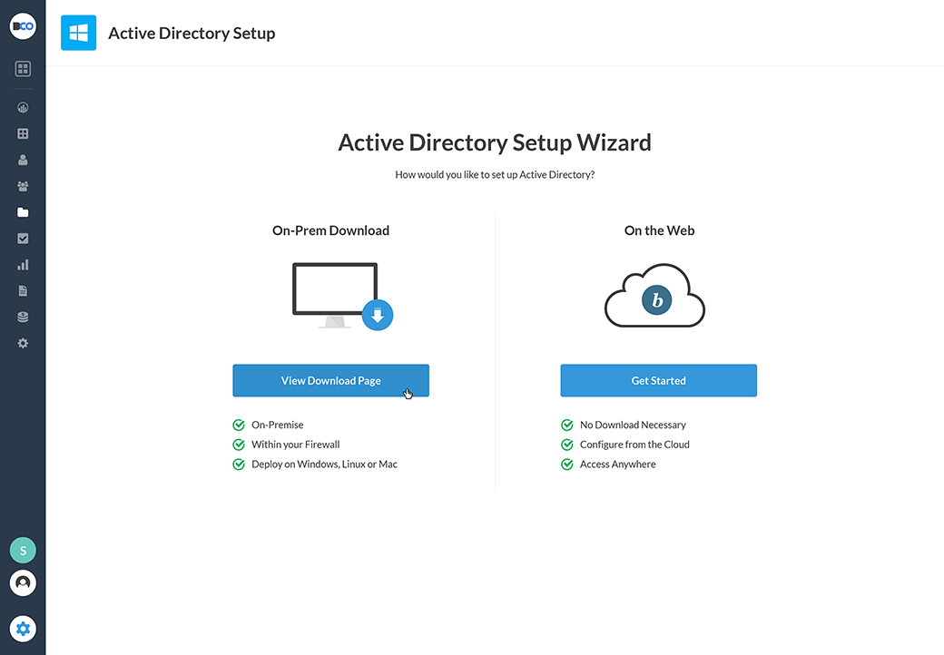 Bitium Active Directory Integration